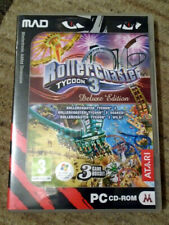 RollerCoaster Tycoon 3 - Deluxe Edition w/ Expansions - PC CD-ROM - VGC