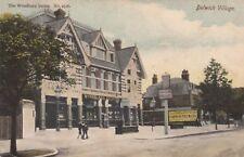 London Postcard. Dulwich Village Southwark. Cannon Brewery Woodbury Series. 1907