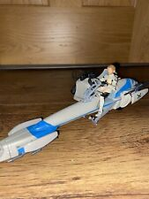 Barc Speeder Bike with Obi Wan Kenobi Star Wars Deluxe Figure with Vehicle