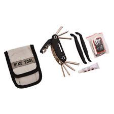 Bicycle Puncture Repair & Multi Function Tool kit Bike Inner Tube Patches