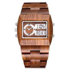 Markenlose Armbanduhren aus Holz