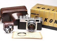 Nippon Kogaku Nikon s2 + Nikkor SC 5 cm (50 mm) 1:1 .4 + Finder + box + Case