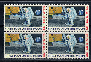 Apollo 11 First Man Walks on the Moon Walk Neil Armstrong Footprint Stamp MINT!