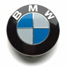 Satz von 4 x 57 mm Felgendeckel für Bmw Blau/Weiss Nabendeckel Nabenkappe