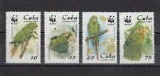 TIMBRE STAMP 4 CARAIBES Y&T#3749-52 OISEAU PERROQUET NEUF**/MNH-MINT 1998 ~D03