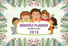 Arpan 2018 Family Appointment Planner - Calendar One Month to View -CL-9307