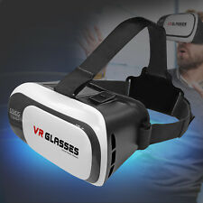 3D Virtual Reality Brille VR Google Cardboard Smartphones iPhone Samsung Android