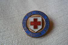 Vintage British Red Cross Society Junior,J R GAUNT pin lapel badge free u.k.p&p
