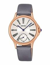 Seiko Conceptual SRKZ54 P1 Gold/Silver Dial Strap Women's Quartz Watch w Box