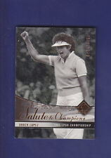 Nancy Lopez 2004 UD Golf SP Authentic #69 Salute to Champions #0486/1985