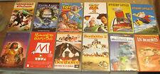 LOTE 12 PELICULAS DISNEY VHS COLECCION PRIVADA NUNCA PUESTO A LA VENTA DIBUJOS