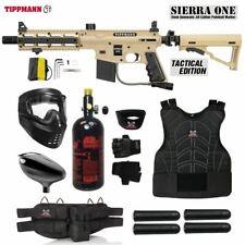 Maddog Tippmann Sierra One Starter Protective Hpa Paintball Gun Package - Tan