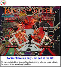 1984 Bally/Midway Kings of Steel Pinball Machine Rubber Ring Kit