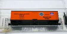 Kadee Micro-Trains MTL 47060 Pacific Fruit Express PFE 19828 40' Wood Reefer Car