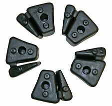 Honda CBR600F-2/3/4 rear wheel sprocket cush drive rubbers (1991-2000) set 5
