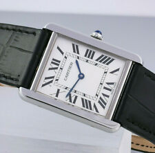Cartier Tank solo XL reloj Hombre con papeles ref. 3169