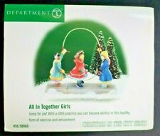 """1999 Dept 56 Christmas In The City """"All In Together Girls"""" #58960 New In Box"""