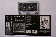 BUZRUM - Det Som Engang Var MC 1995 Morbid Noizz RARE 1'ST PRESS
