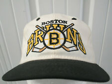 VINTAGE #1 APPAREL NHL BOSTON BRUINS HOCKEY FITTED 6 3/4 CAP HAT NWT DS 90S