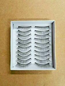 Magic False Eyelashes Fake Eye Lashes Thick Long Natural Fluffy Magnetic No Glue