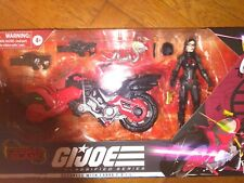 GI JOE CLASSIFIED TARGET EXCLUSIVE BARONESS COBRA COIL FIGURE LOT MINT