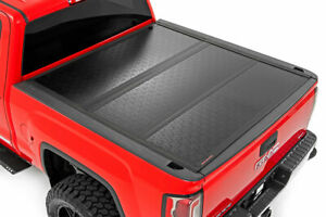 Rough Country Low Profile Hard Tri-Fold fits 14-18 Silverado Sierra 5.8' Bed