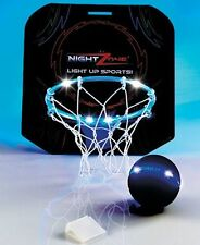 NEW Night Zone Light Up Hoops-Nighttime Basketball FACTORY SEALED  Blue