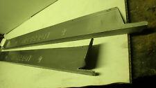 maserati biturbo coppia pedane battitacco in alluminio
