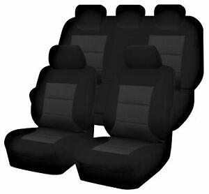 Premium Car Seat Covers For Mazda Bt50 Up Series 2011-2015 Dual Cab | Black