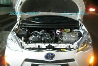 Carbon Fiber Strut Lift Hood Damper Kit for 2012-2014 Toyota Prius C City NHP10