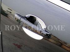 JAGUAR XF NEW CHROME 4 PIECE INNER DOOR HANDLE TRIMS / SCOUPS SHELLS ALL MODELS