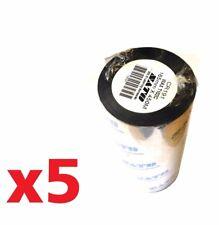 JOB LOT x5 SATO 165mm X 450M THERMAL TRANSFER PRINTER RIBBON WAX T102C CR191