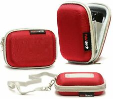 Navitech Red Case For Canon PowerShot ELPH 180 Camera NEW