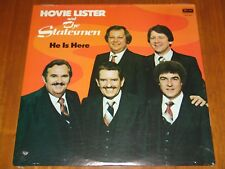 HOVIE LISTER & THE STATESMEN - HE IS HERE - 1980 RARE STILL SEALED LP ! ! ! !
