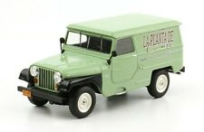 IKA Jeep Sabu Furgon 1965 Coffee Truck Rare Argentina Diecast Scale 1:43+Magazne
