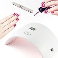 24W LED UV Nail Dryer Curing Lamp for Fingernail & Toenail Gels (EU Plug)