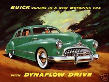 1948 Buick Roadmaster w/Dynaflow Drive, Refrigerator Magnet, 40 MIL