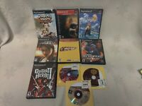 PS2 LOT 10 GAMES! Twisted Metal + Harvest Moon + Final Fantasy X + Crazy Taxi