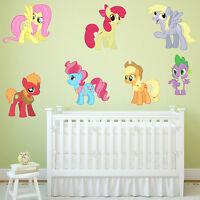 MY LITTLE PONY GIRLS BOYS KIDS BEDROOM VINYL DECAL WALL ART STICKER WINDOW GIFT