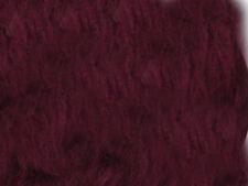 Burgandy Plain Faux Fur Fabric Short Hair 150cm Wide  SOLD BY THE METRE