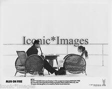 ORIGINAL 1987 PHOTO-SCOTT GLENN-JADE MALLE-MAN ON FIRE-ACTION-DRAMA-THRILLER