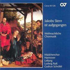 Jakobs Stern ist aufgeg.,Weihnachtliche Chormusik von Mädchenchor Hannover (1996)