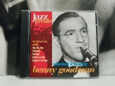 BENNY GOODMAN - JAZZ GREATS CLARINET A LA KING CD LIKE NEW