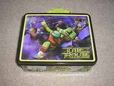 New Teenage Mutant Ninja Turtles Metal Lunch Box Michelangelo Leonardo