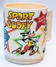 Disney Sport Goofy Vintage Plastic Mug
