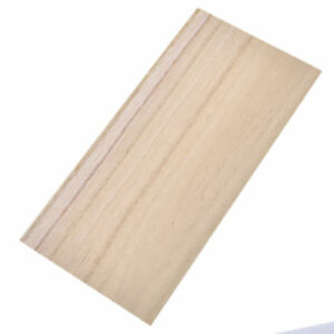 1/5pcs Paulownia Holzplatte Modell Balsaholz  DIY Haus Handwerksbedarf