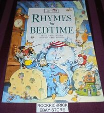 RHYMES FOR BEDTIME (LADYBIRD) 1995 LARGE BOOK