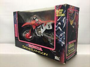 Racing Champions 1/9 STEVE LAMSON  Honda Dirt bike CR250R 1995 Moto MXS