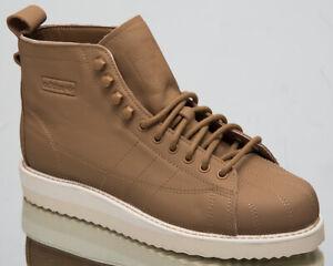 adidas Originals Womens Superstar Boot Cardboard High Top Lifestyle Shoes CG6254