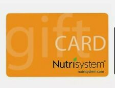 Nutrisystem Gift Card  $100 No Expiration